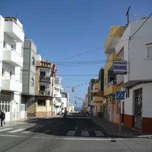 Die Calle Brasil ohne Autos