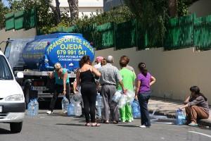 Wasser holen in El Tablero